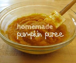 Easy Handmade Pumpkin Puree
