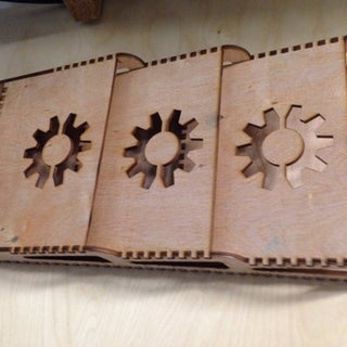 How to Make a Wall-mounted Magazine Rack Using a Laser Cutter.