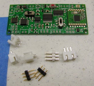 Place and Solder All of the Trough Hole Parts