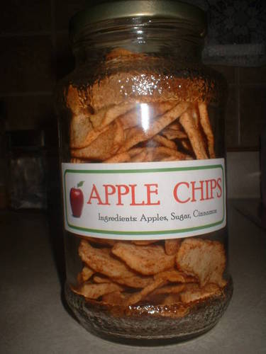 Totally Crunch-tastic Apple Chips
