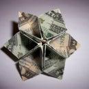 Origami Dollar Flower