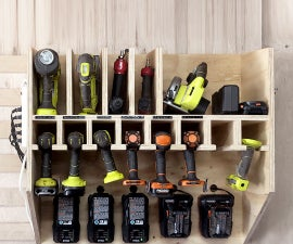 Ultimate Drill Charging / Storage Station