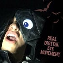 Moving Mad Eye Cyborg Headpiece Costume