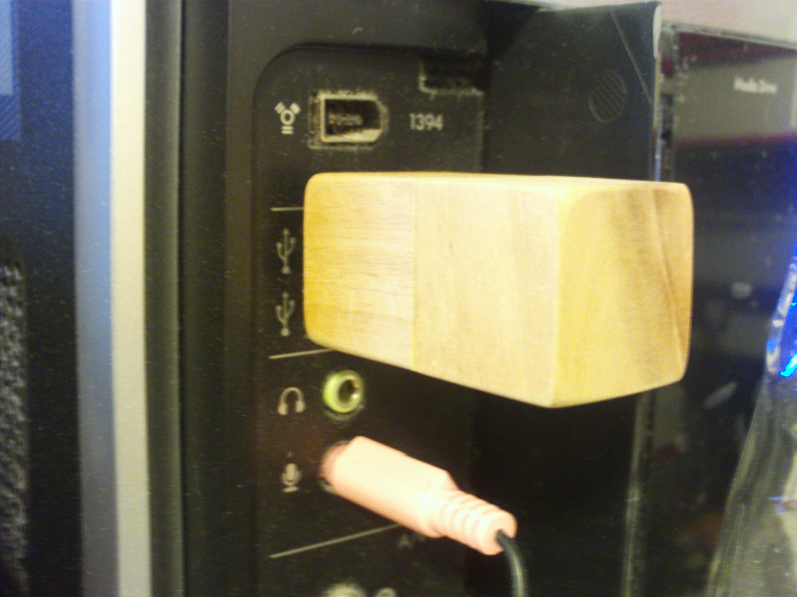 Wood Block USB Drive