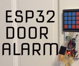 Esp32 Door Alarm