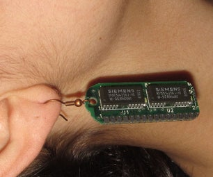 Nerdy Retro-computing Earrings