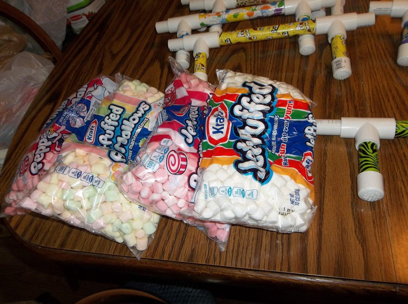 Mini Marshmallow Shooters!