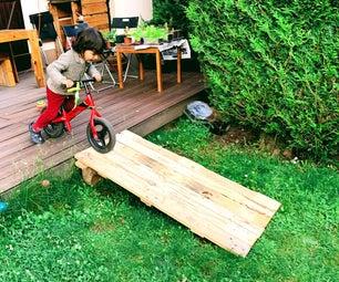 30 Minutes Pallet Ramp for Kids