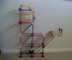 Knex 'quarter Arm' Ball Lift/element Hybrid
