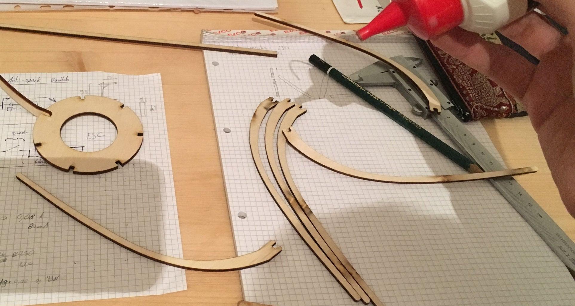 Cut and Glue the Frame
