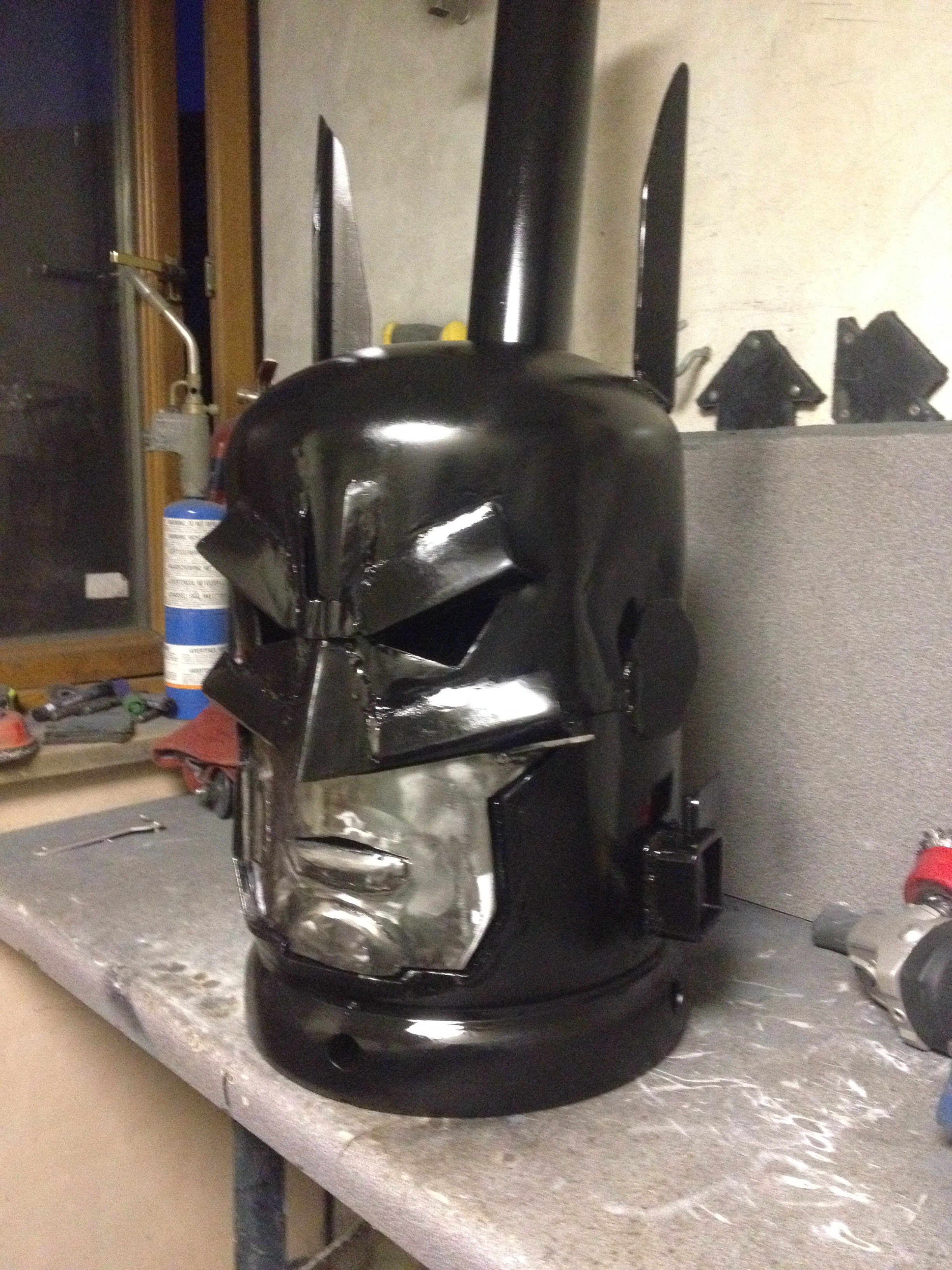 Batman Log Burner