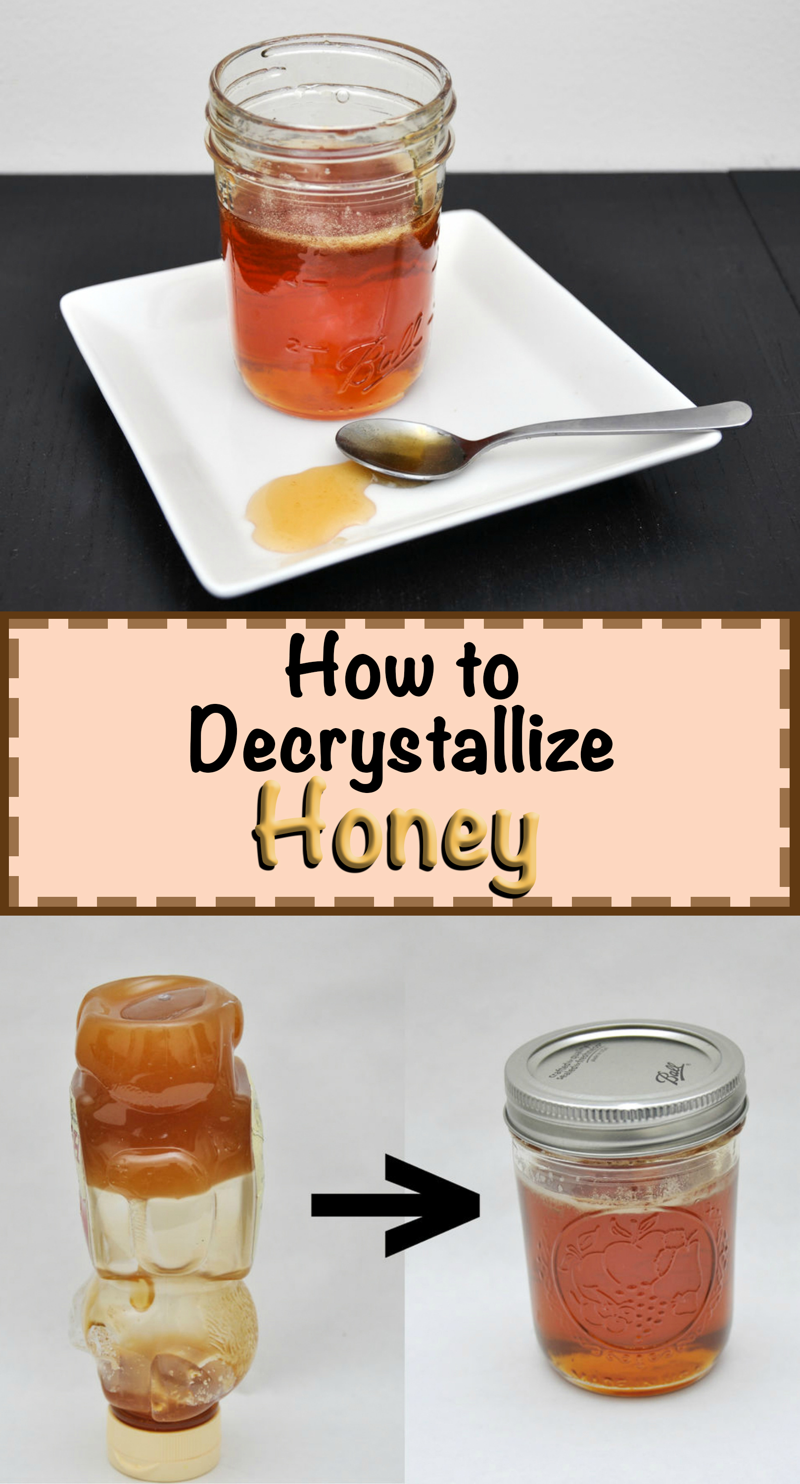How to Decrystallize Honey: 3 Steps (with Pictures)