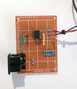 Building the MIDI Input Circuit