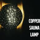 Copper Sauna Lamp