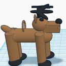 3D Printed Reindeer Ornament