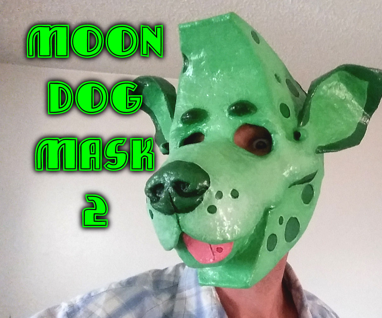 Moon Dog Mask 2