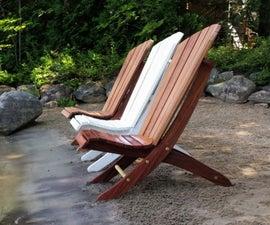 Adirondack 2 Piece Beach Chair