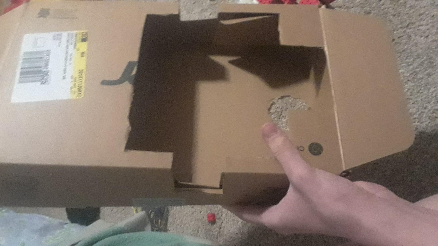 Cardboard Box Frame