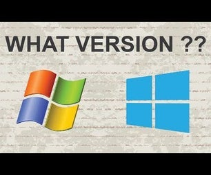 How Do I Know What Version of Windows I Have
