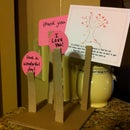 How to make a photo & note holder from cardboard