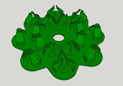 Assemble the Base With Small Gears