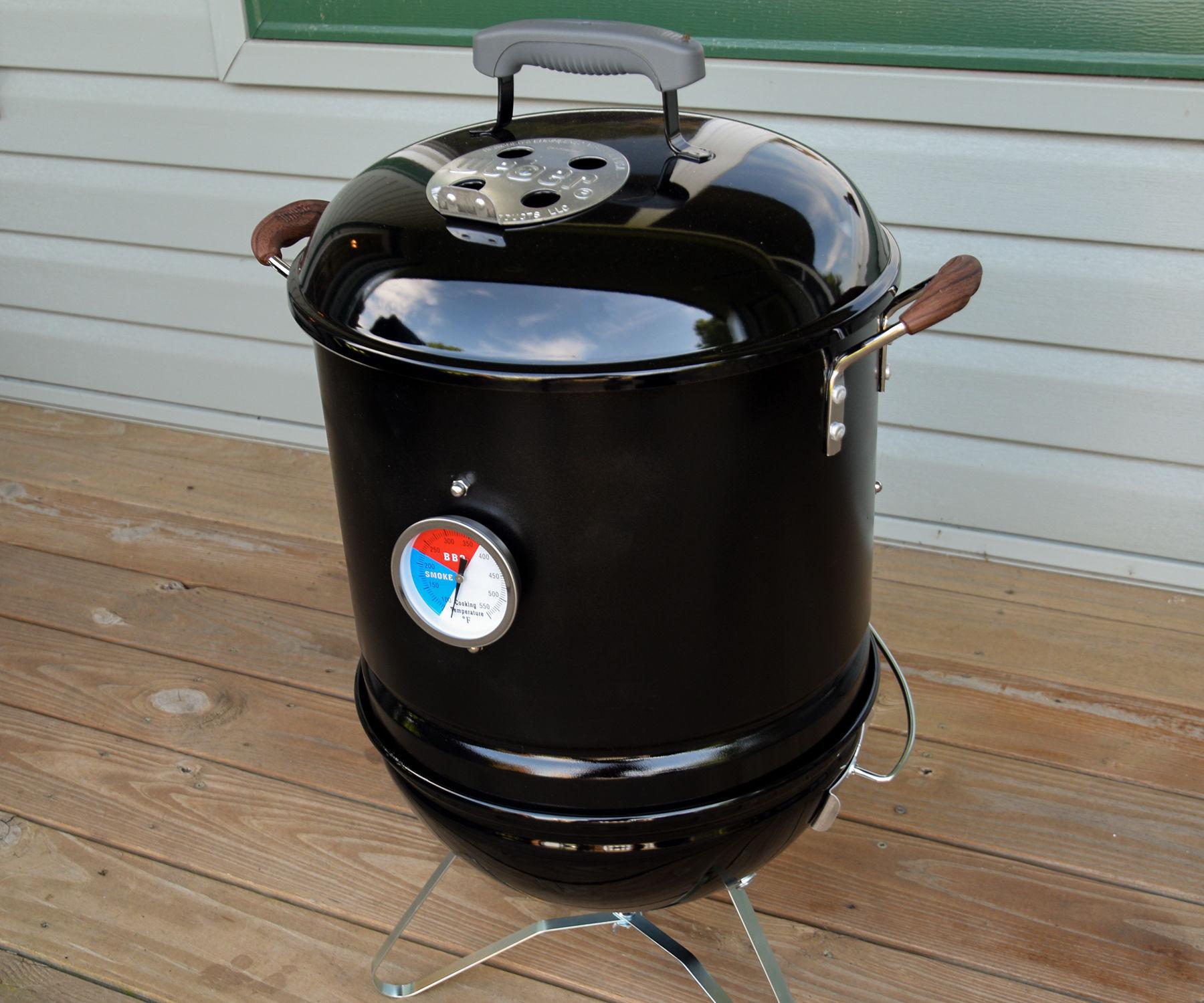 Mini Combo Grill and Smoker
