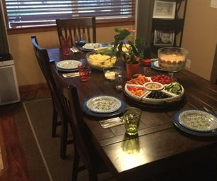 4 Course Meal to Satisfy Guests