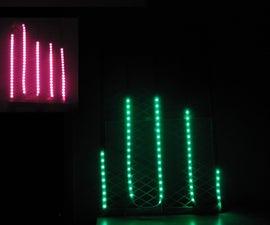 Raspberry Pi Spectrum Analyzer With RGB LED Strip and Python