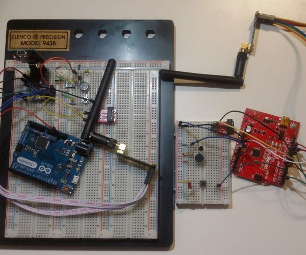 DIY Arduino Wristwatch Walkie-Talkie