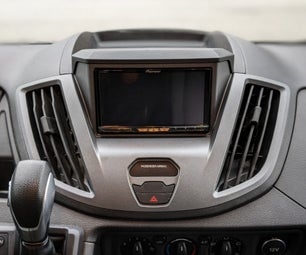 How to Install an Aftermarket Radio (Android Auto / CarPlay / DVD) to a Ford Transit