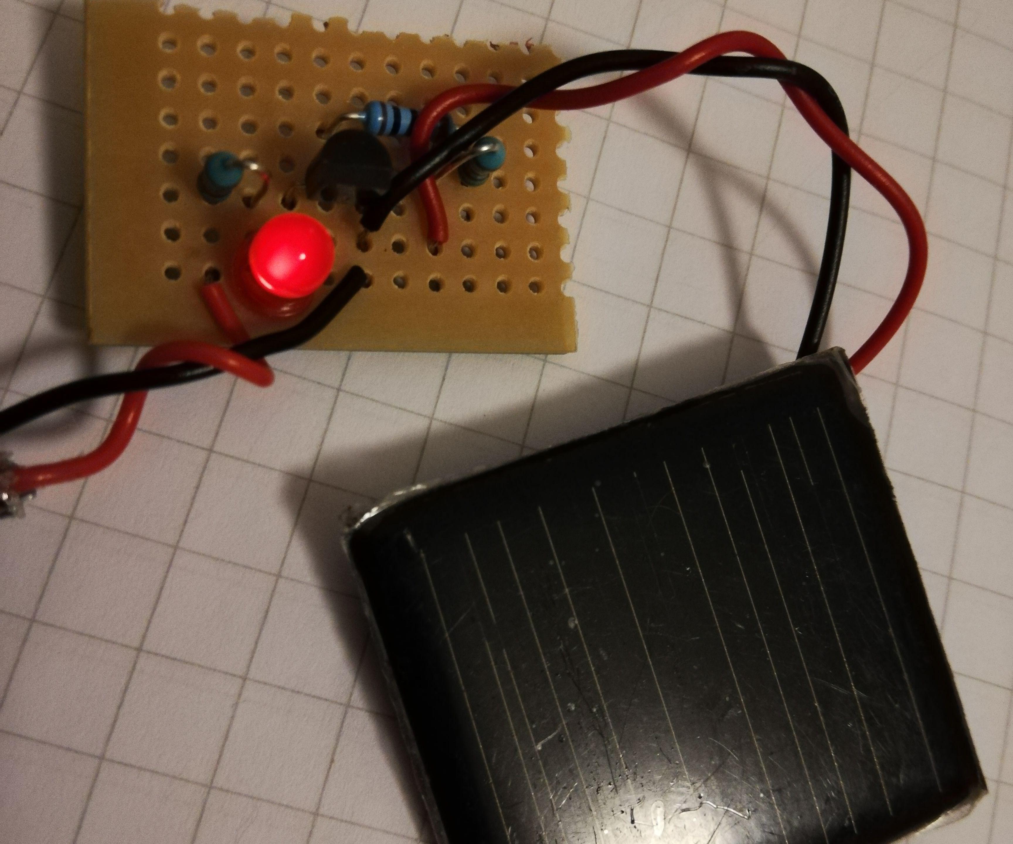 Simple Light Sensor With an LED