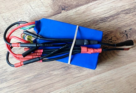 Parallel Lipo Battery Leads