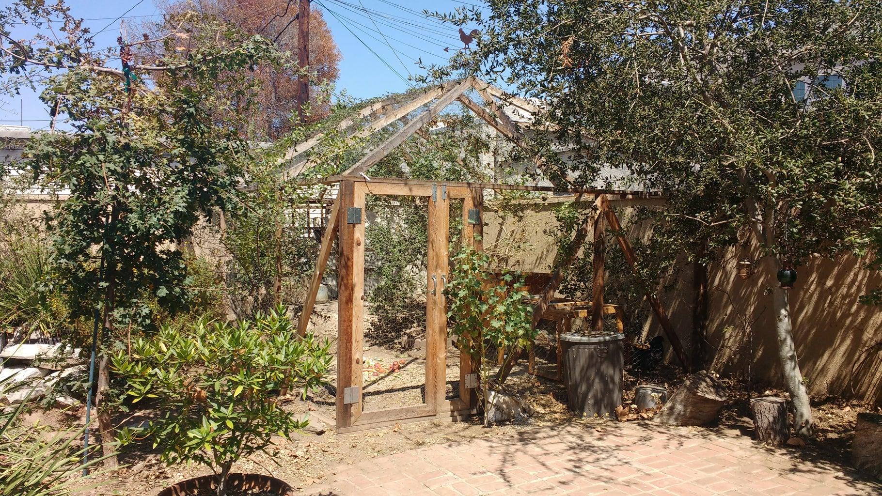 Walk-in Open Air Chicken Coop