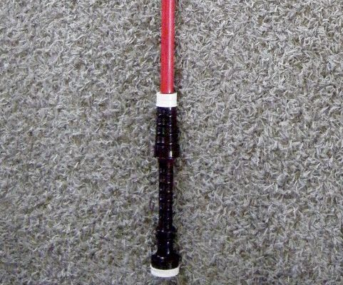 Lightsaber from Old Bagpipes