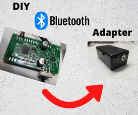 DIY Bluetooth Adapter.
