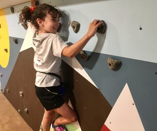 Basement Bouldering Wall
