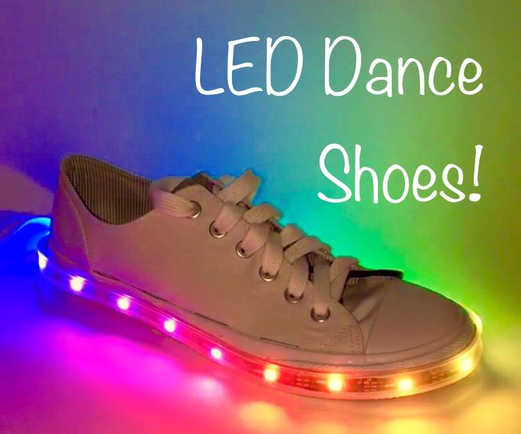 Lighten Your Step: LED Dance Shoes!