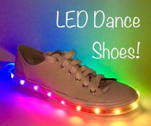 Lighten Your Step: LED Dance Shoes!