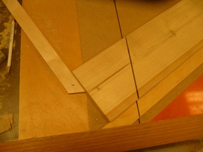 Cutting Side Pieces for Top Shelf