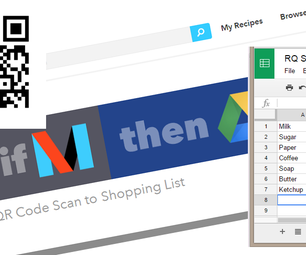Automate Your Grocery List Using QR Codes
