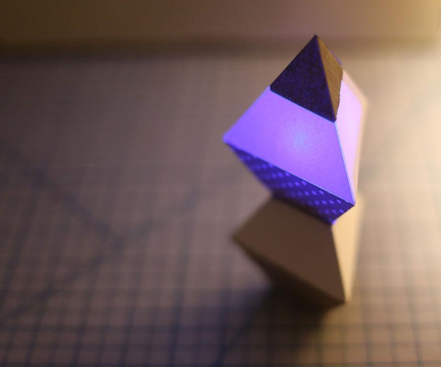 Triangular Dipyramid Light Modules