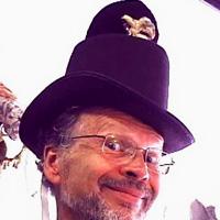 Halloween Robotic Top Hat