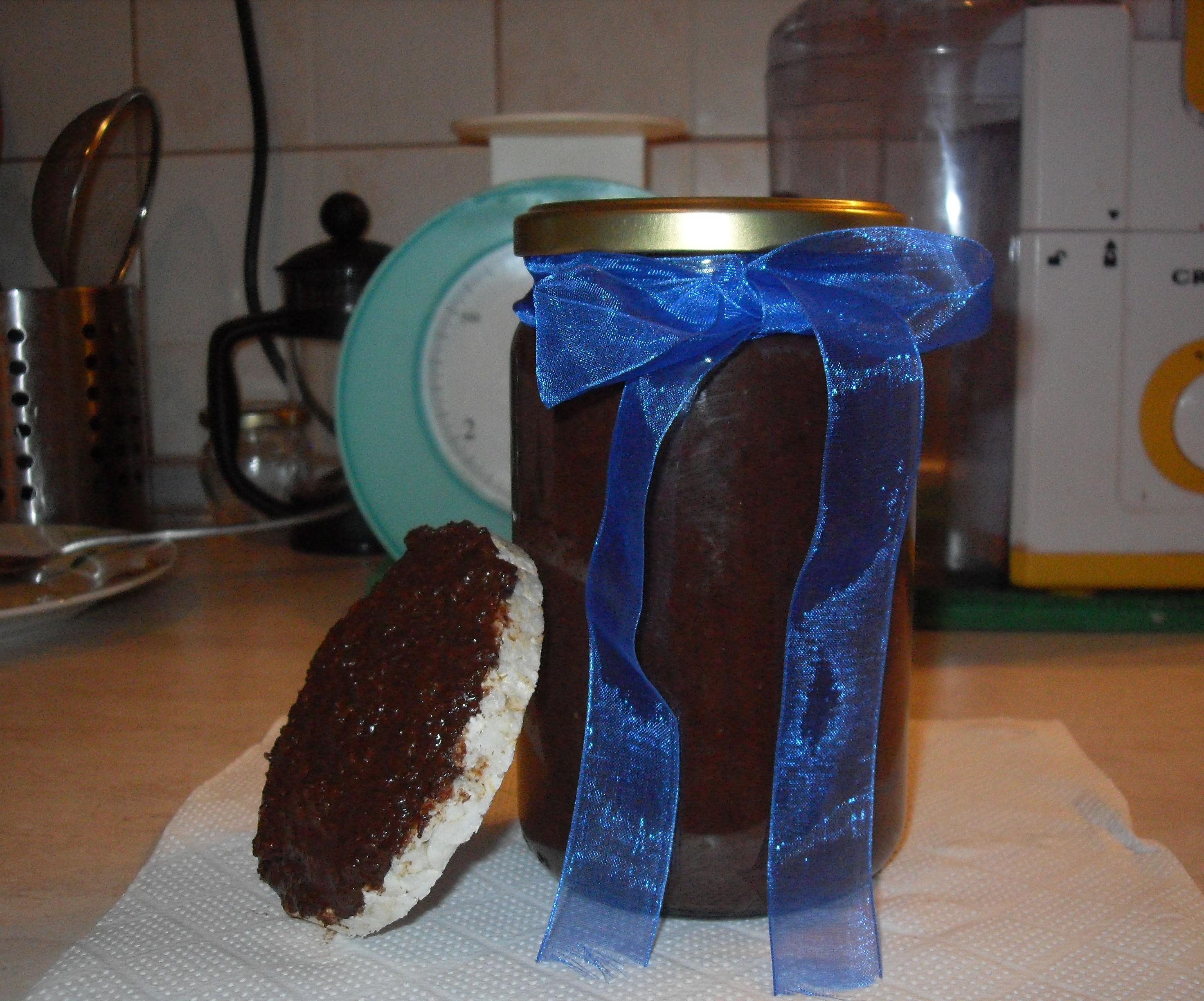 Raw Greek Merenda ( Hazelnut cocoa spread)