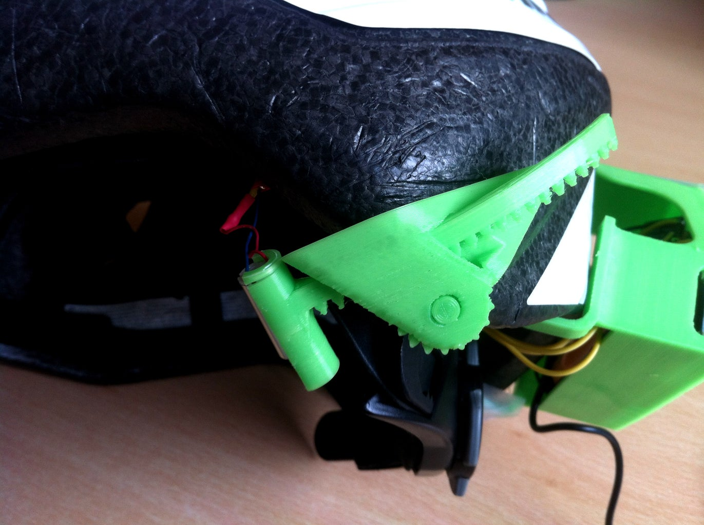 DIY Bone Conduction Bike Helmet