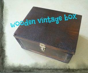 Wooden Vintage Box