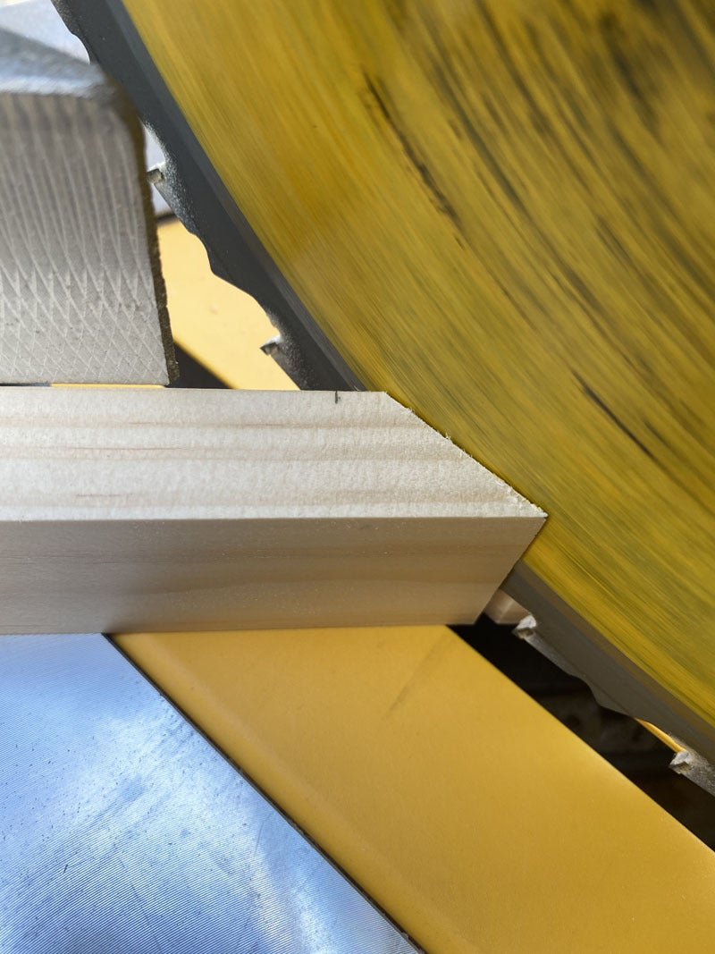 Cut Your Miters on the First Two Sides