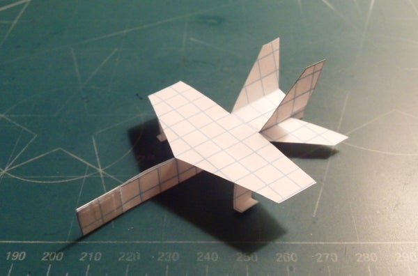 How to Make the McDonnell Douglas F/A-18 Hornet Paper Airplane