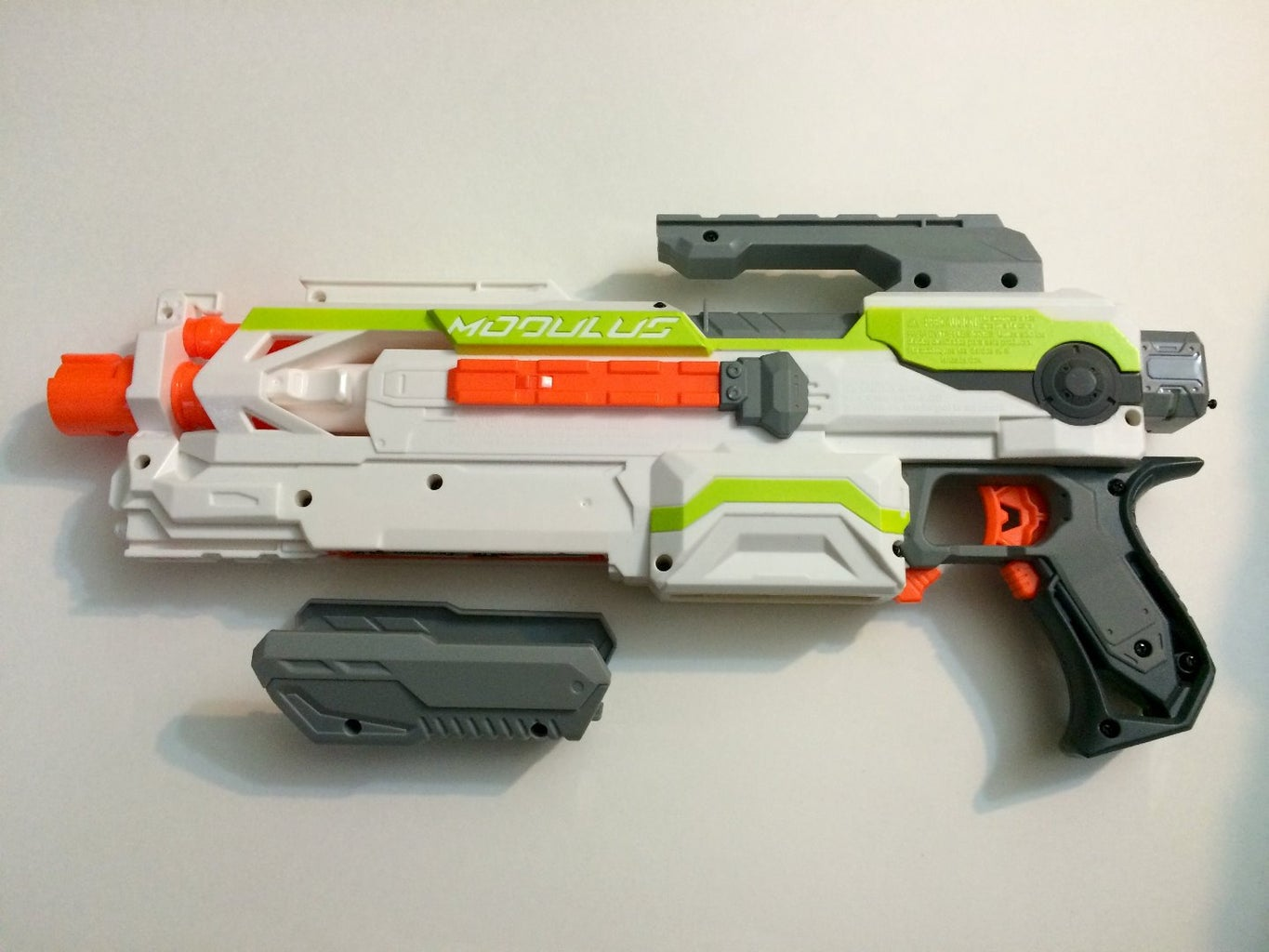 Opening the Blaster