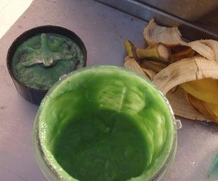 Toxic Banana Waste (A Very Gross Halloween Dessert)