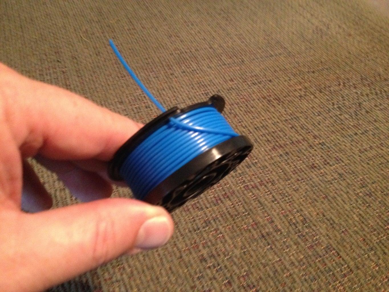How to Machine Wind GrassHog Weed Eater Spools